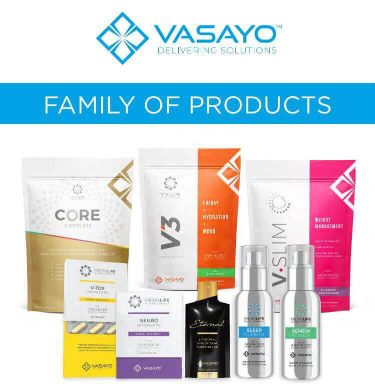 Vasayo Products - Designed For Rapid Change